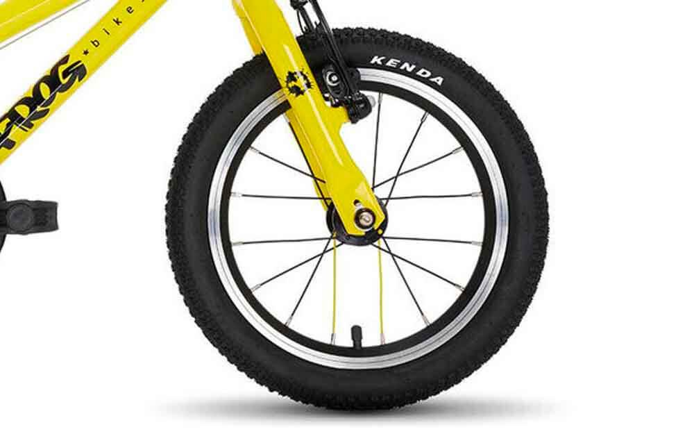 Frog-40-Yellow-TDF-Bike-Front