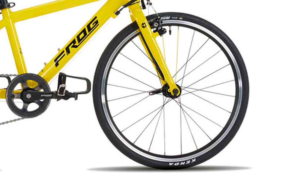 Frog-Road-58-Yellow-TDF-Bike-Front