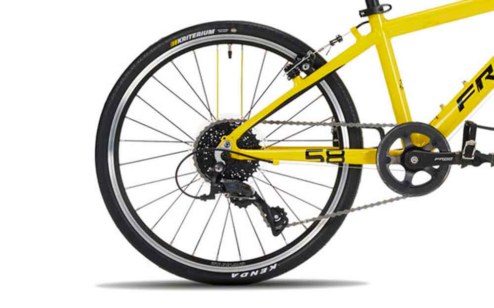 Frog-Road-58-Yellow-TDF-Bike-Rear