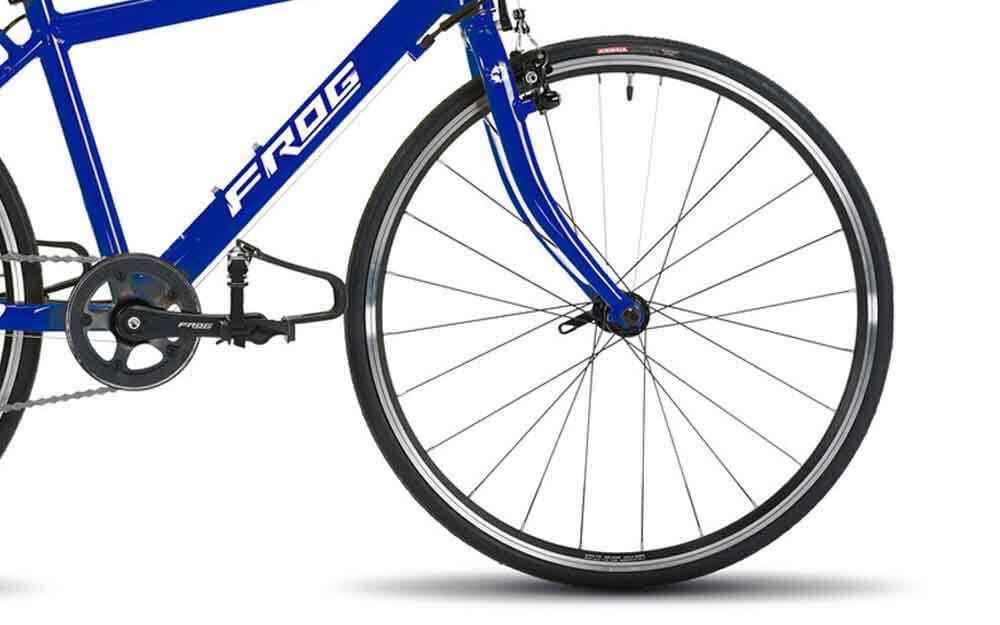 Frog-Road-67-Electric-Blue-Bike-Front