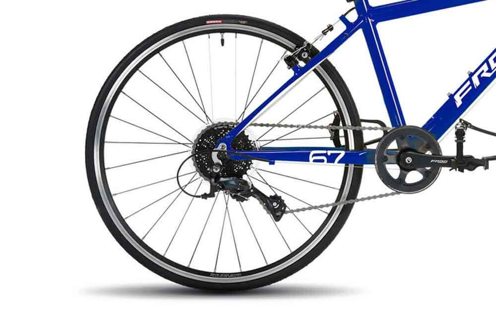 Frog-Road-67-Electric-Blue-Bike-Rear
