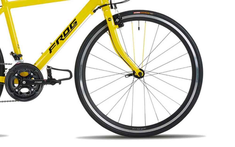Frog-Road-70-Yellow-TDF-Bike-Front
