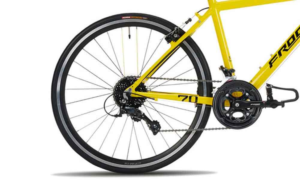 Frog-Road-70-Yellow-TDF-Bike-Rear