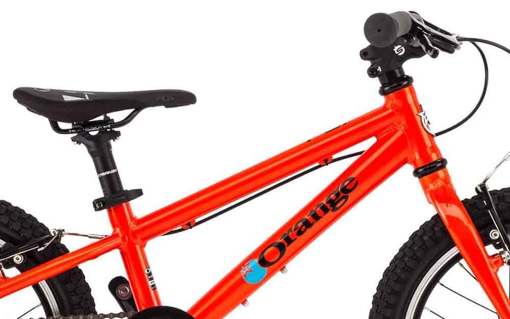Orange-POP-Bike-Frame