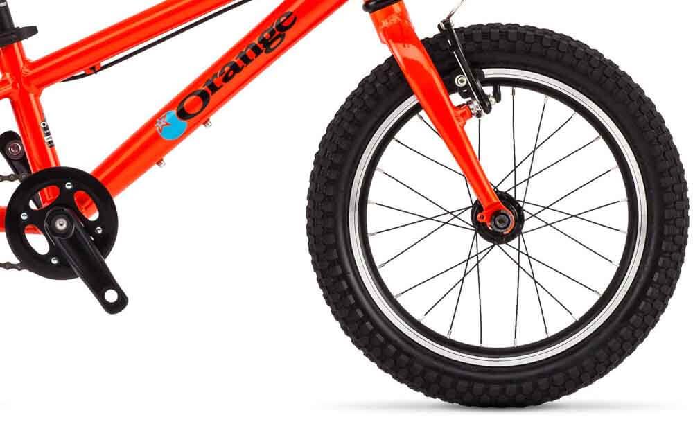 Orange-POP-Bike-Front