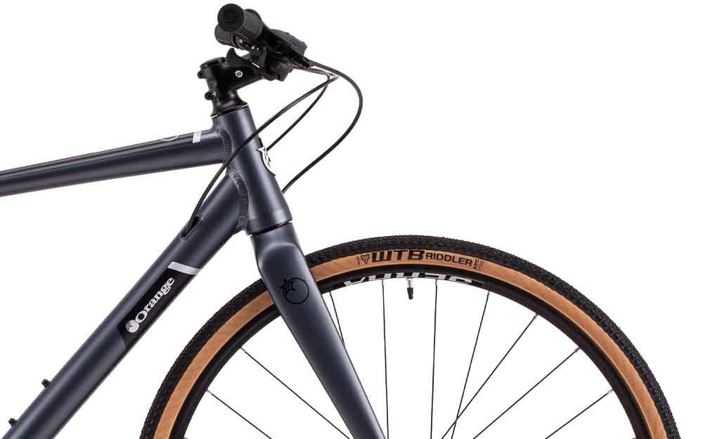 Orange-Speedwork-Bike-Front