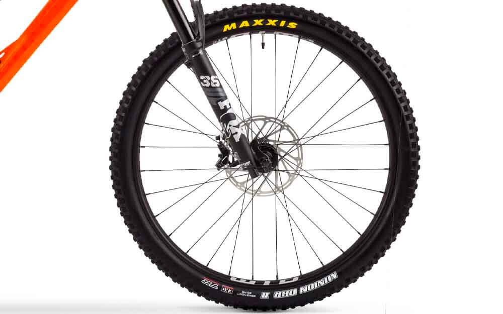 Orange-Switch-6-Pro-Bike-Front-Wheel