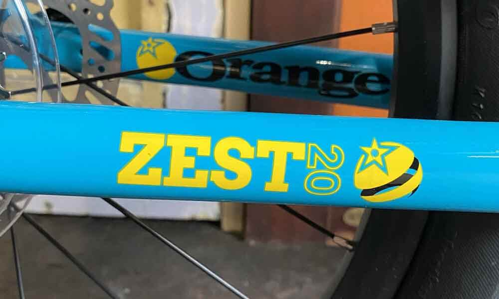 Orange-Zest-Bike-Tropical-Blue-Frame