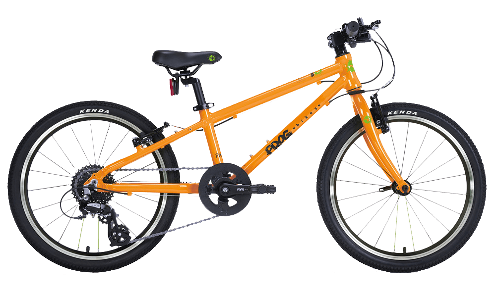 Frog-52-Orange-Bike