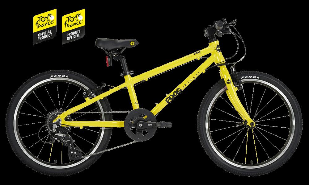 Frog-52-Yellow-TDF-Bike